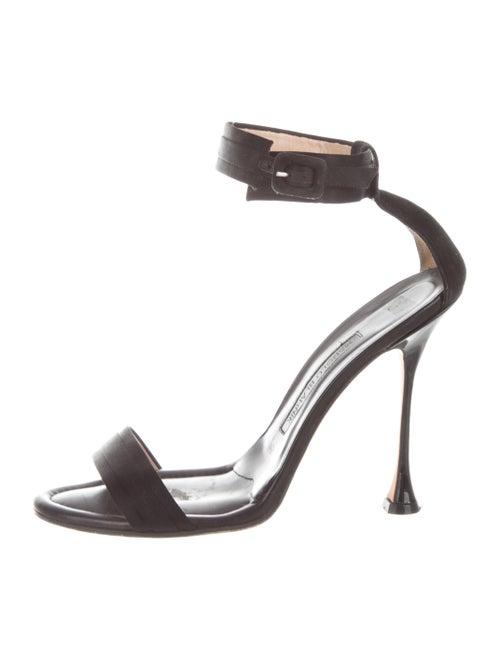 Manolo Blahnik Sandals Black