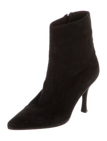 Manolo Blahnik Vintage Suede Boots
