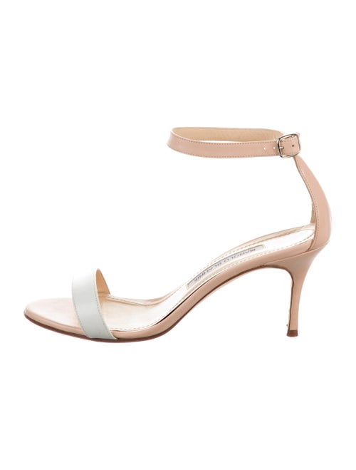 Manolo Blahnik Leather Sandals - image 1