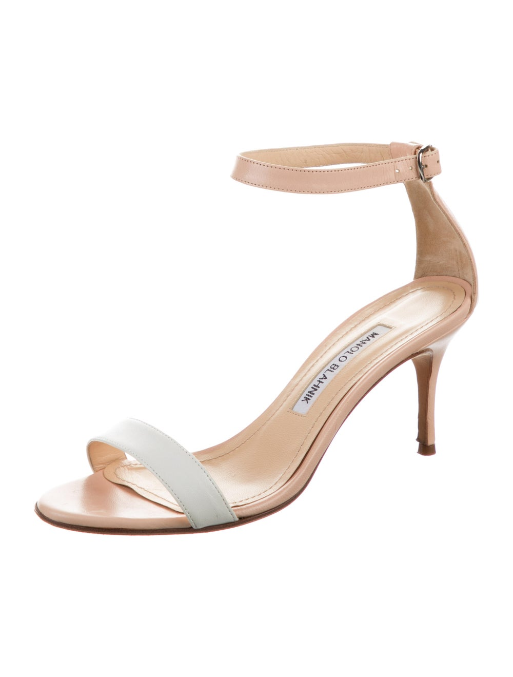 Manolo Blahnik Leather Sandals - image 2