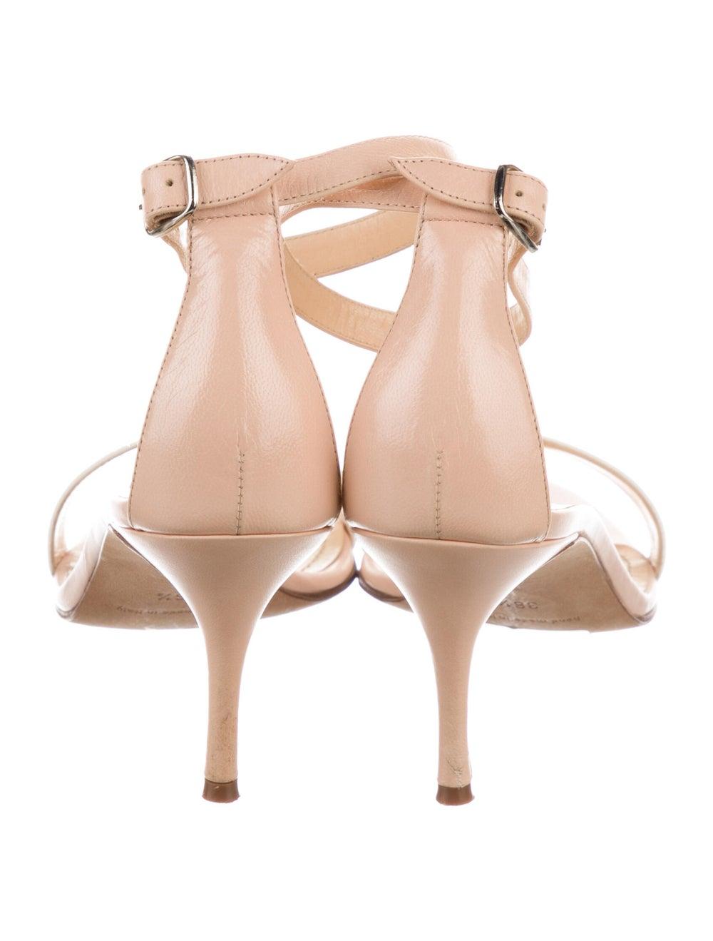 Manolo Blahnik Leather Sandals - image 4