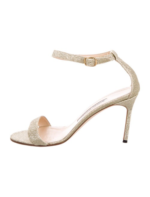 Manolo Blahnik Sandals Gold - image 1