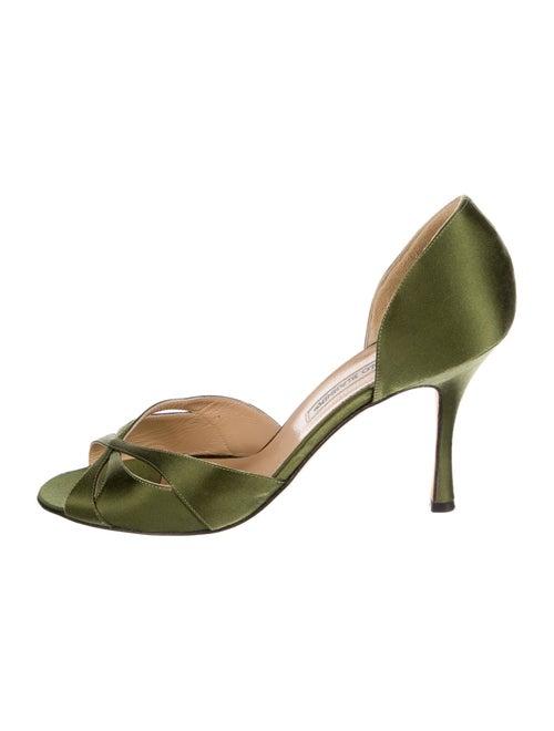 Manolo Blahnik Sandals Green