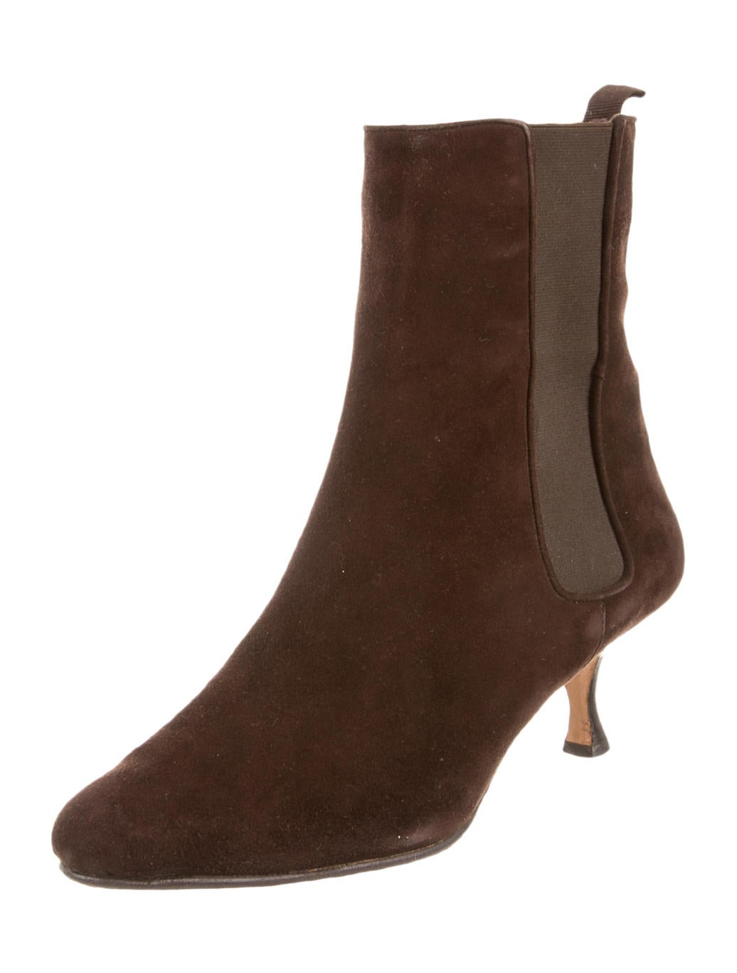 Manolo Blahnik Ankle Boots - Shoes - MOO36373   The RealReal