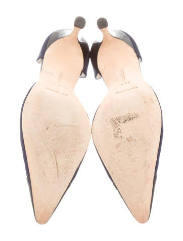 Cap Toe d'Orsay Pumps