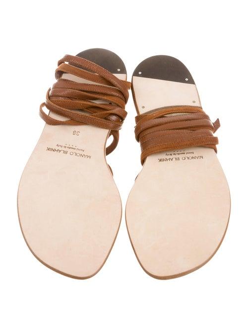 f50ff767d313 Manolo Blahnik Primathi Gladiator Sandals - Shoes - MOO49667