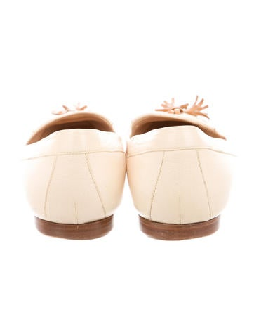 Leather Cap-Toe Flats