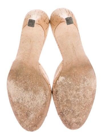 Cork Slide Sandals