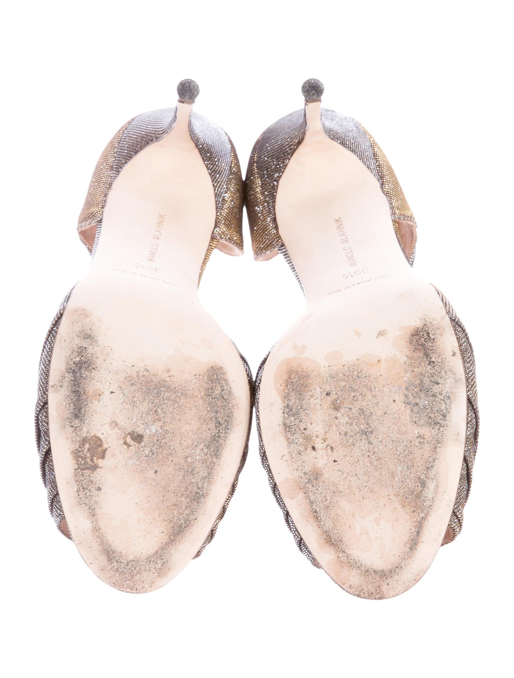 manolo blahnik treuil asymmetric sandals shoes. Black Bedroom Furniture Sets. Home Design Ideas