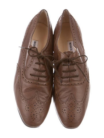 Wingtip Brogue Oxfords