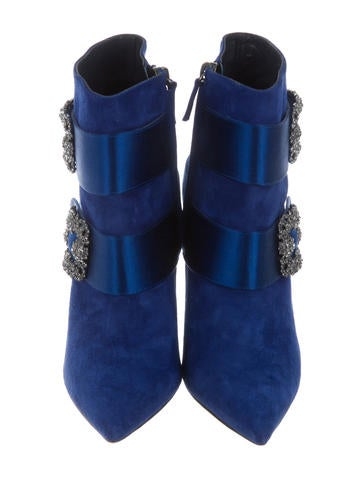 Plinia Suede Ankle Boot