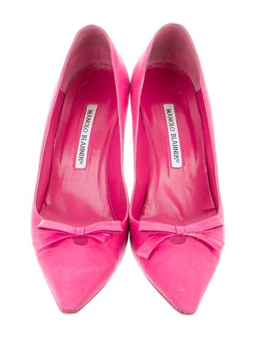Woven Bow Pumps
