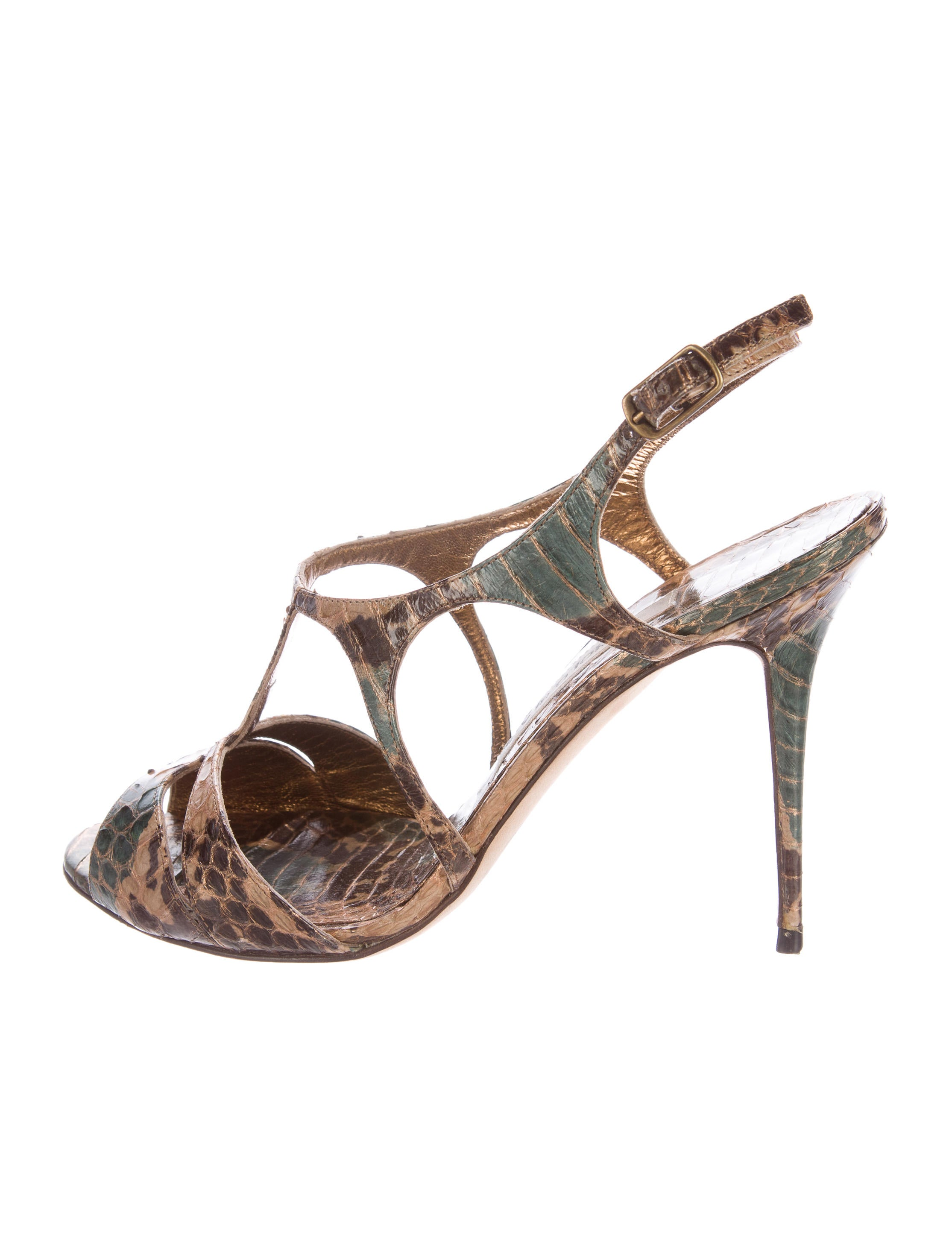 Prada Python Multistrap Sandals discount cheap online quality for sale free shipping free shipping explore sale sast discount best sale wDibNBilhJ
