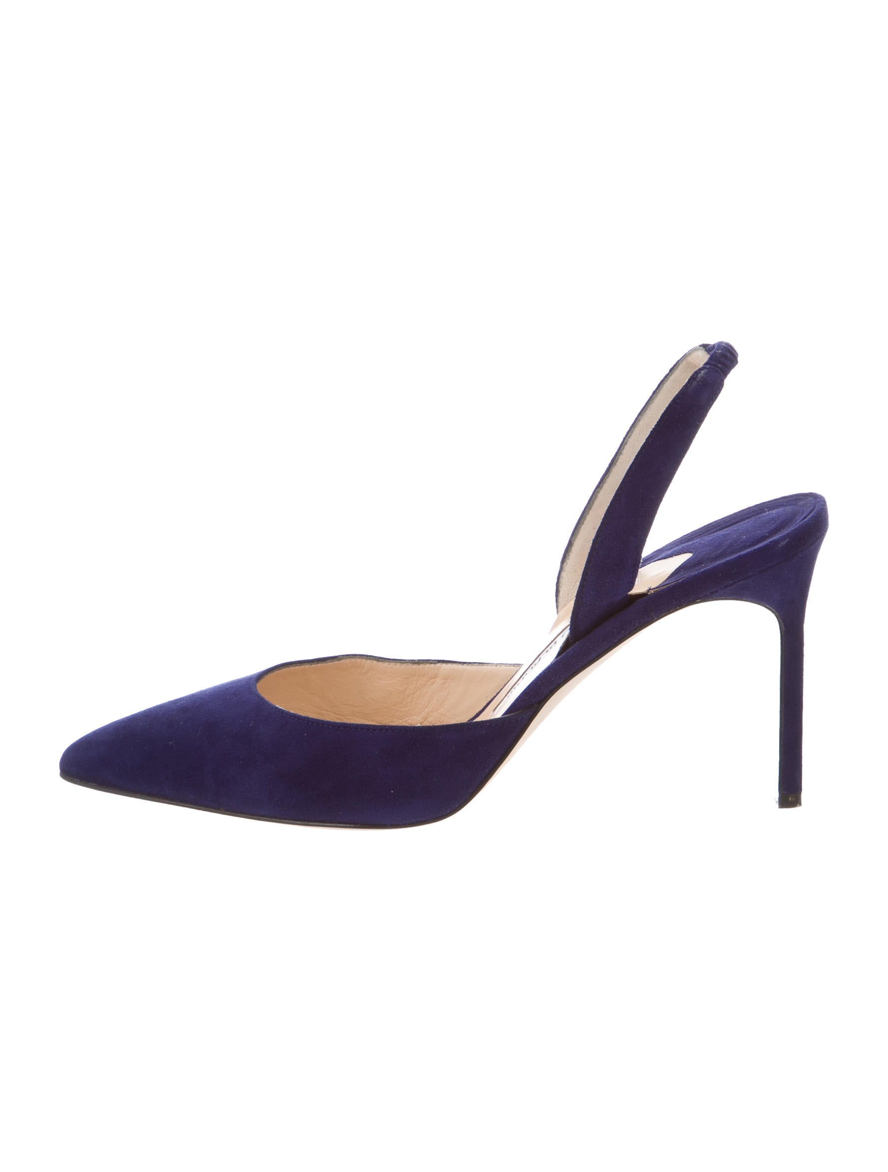 Manolo blahnik carolyne slingback pumps shoes moo66180 for 66180 1