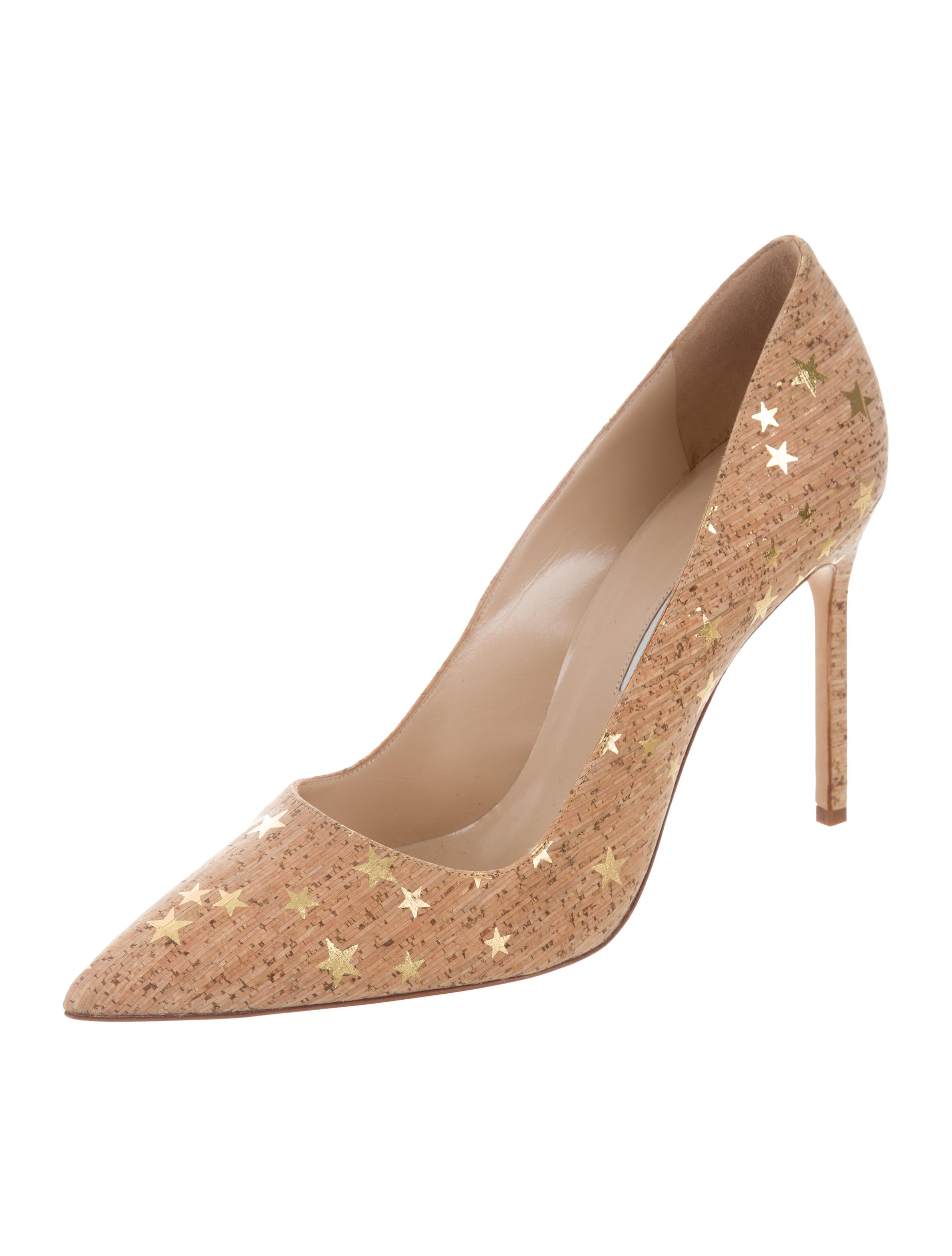 Manolo blahnik cork bb pumps shoes moo70561 the realreal for Shoes by manolo blahnik