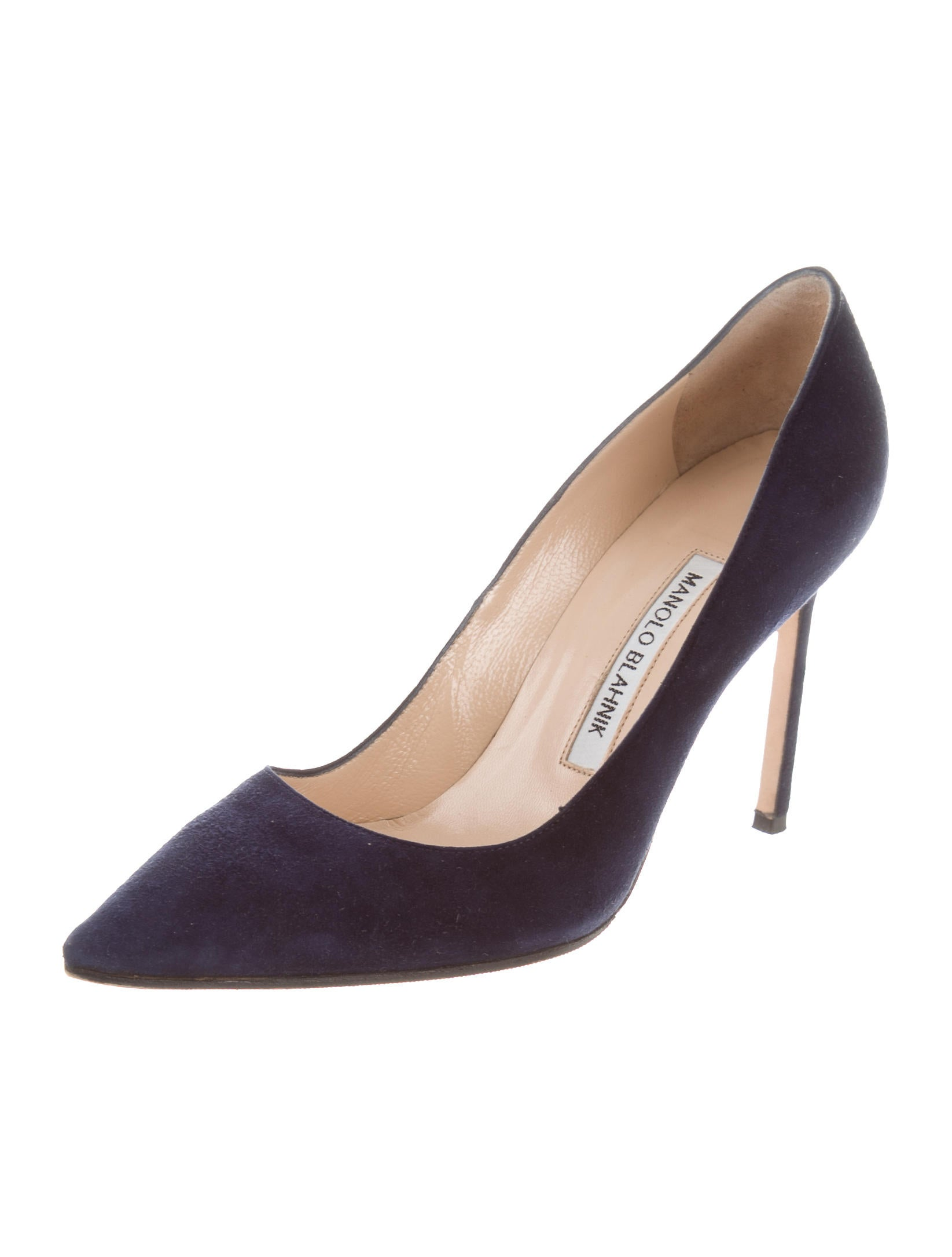 Manolo blahnik bb 105 pumps shoes moo71848 the realreal for Shoes by manolo blahnik
