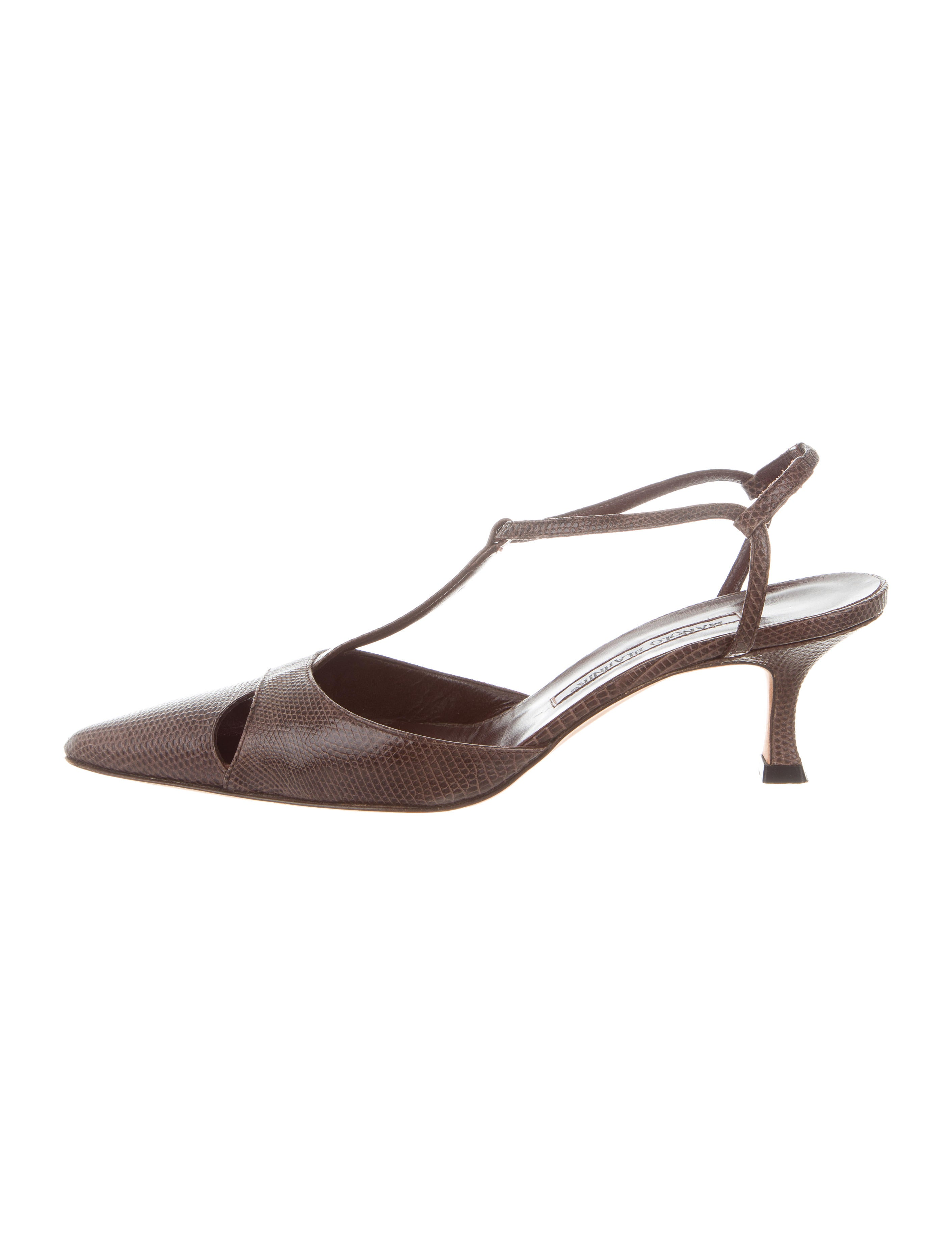 cheap sale real Manolo Blahnik Lizard Pointed-Toe Pumps discount online get to buy cheap price buy cheap low shipping pay with visa cheap price slUigTwX