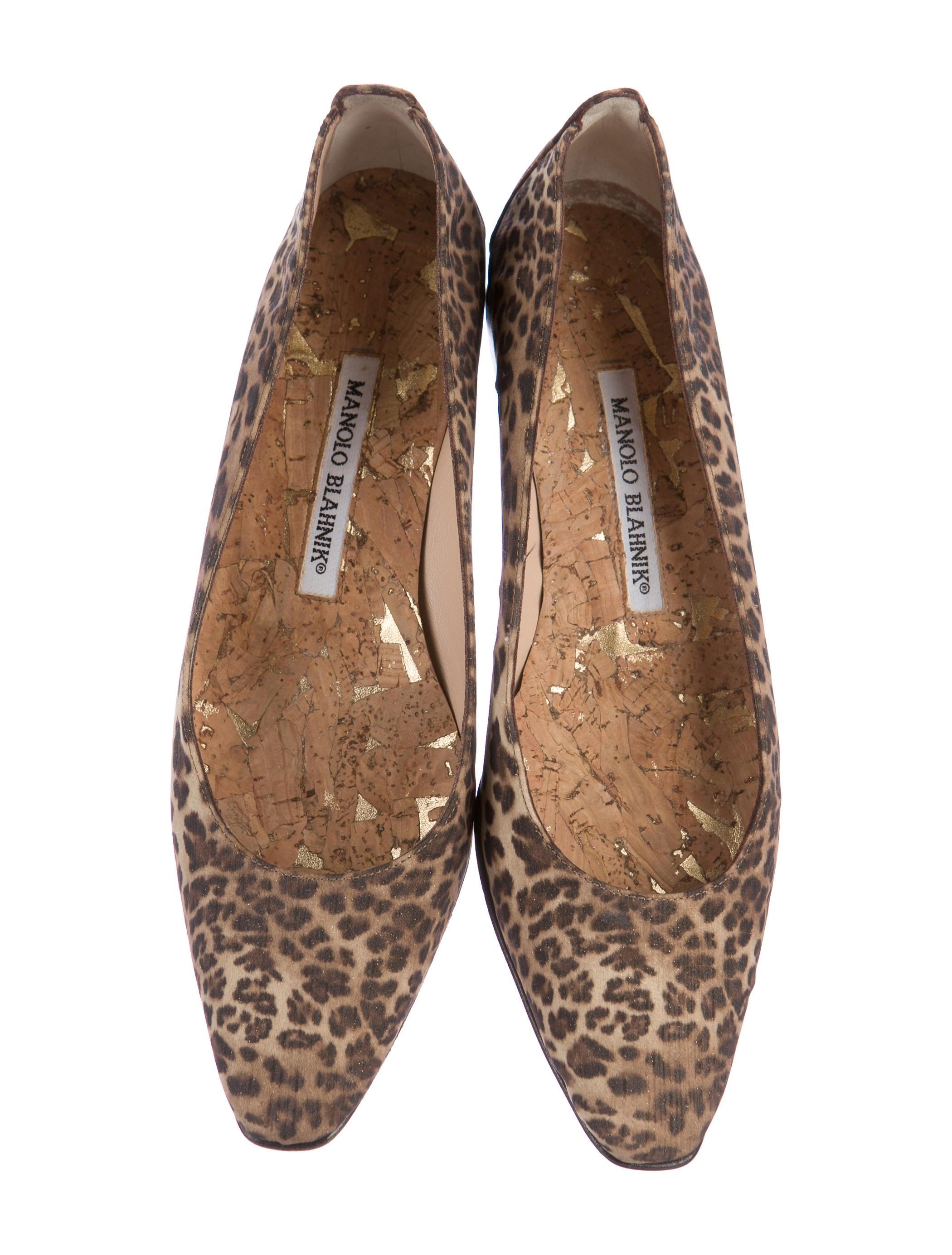 New listing Clarks cushion soft leopard print pony skin flats ballet pumps UK 7 VGC.