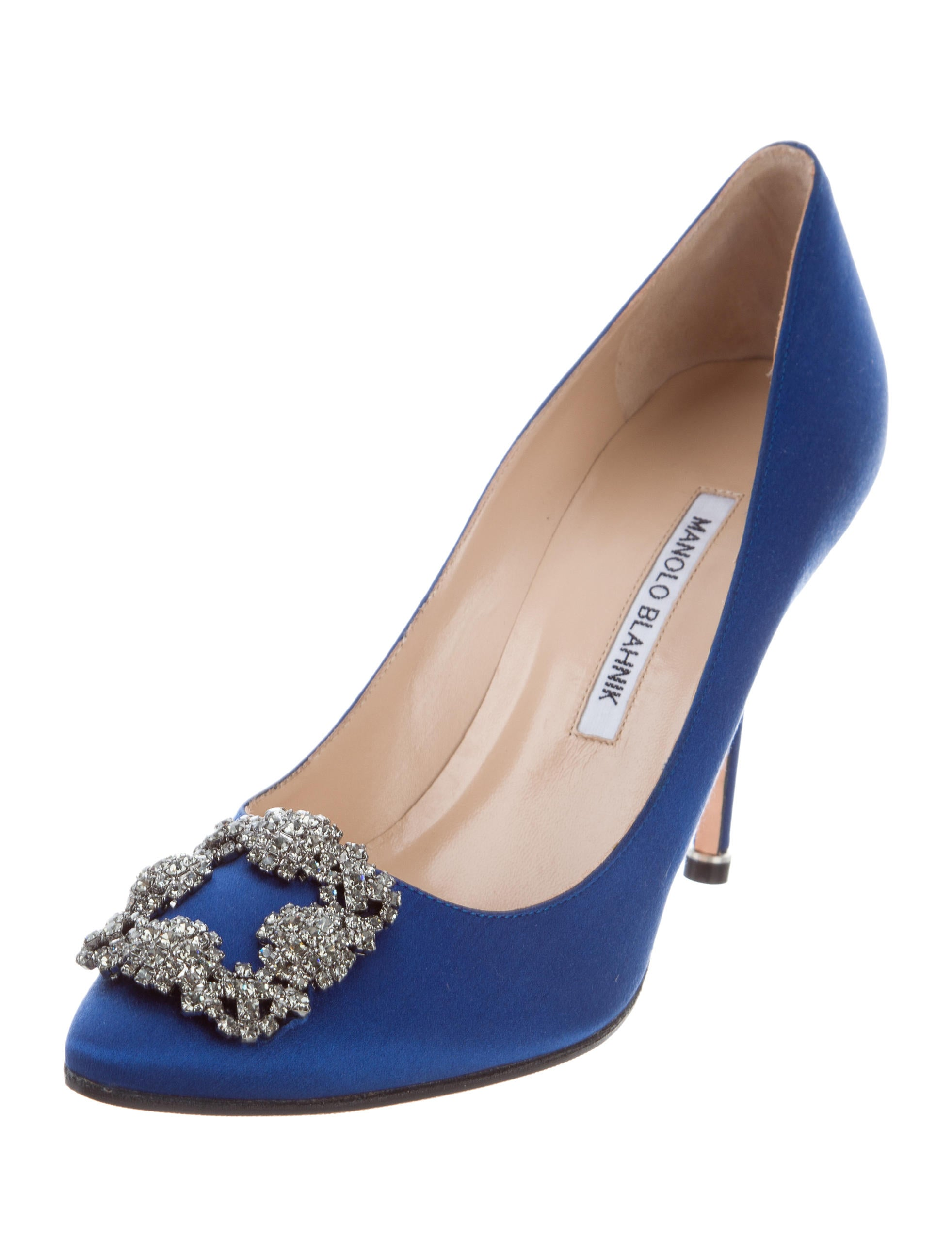 Manolo blahnik hangisi 105 pumps shoes moo73623 the for Who is manolo blahnik