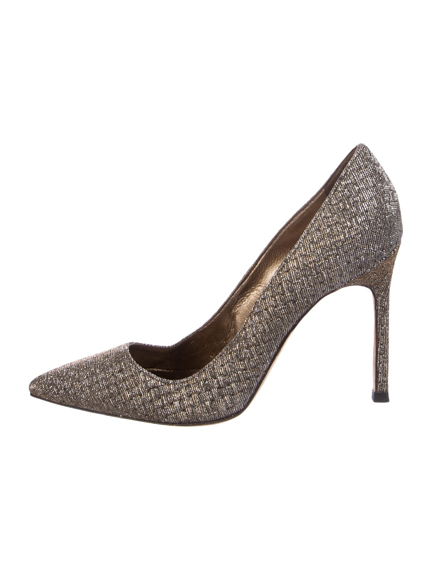 Manolo Blahnik Woven BB Pumps discount authentic online clearance top quality discount new styles edo2y