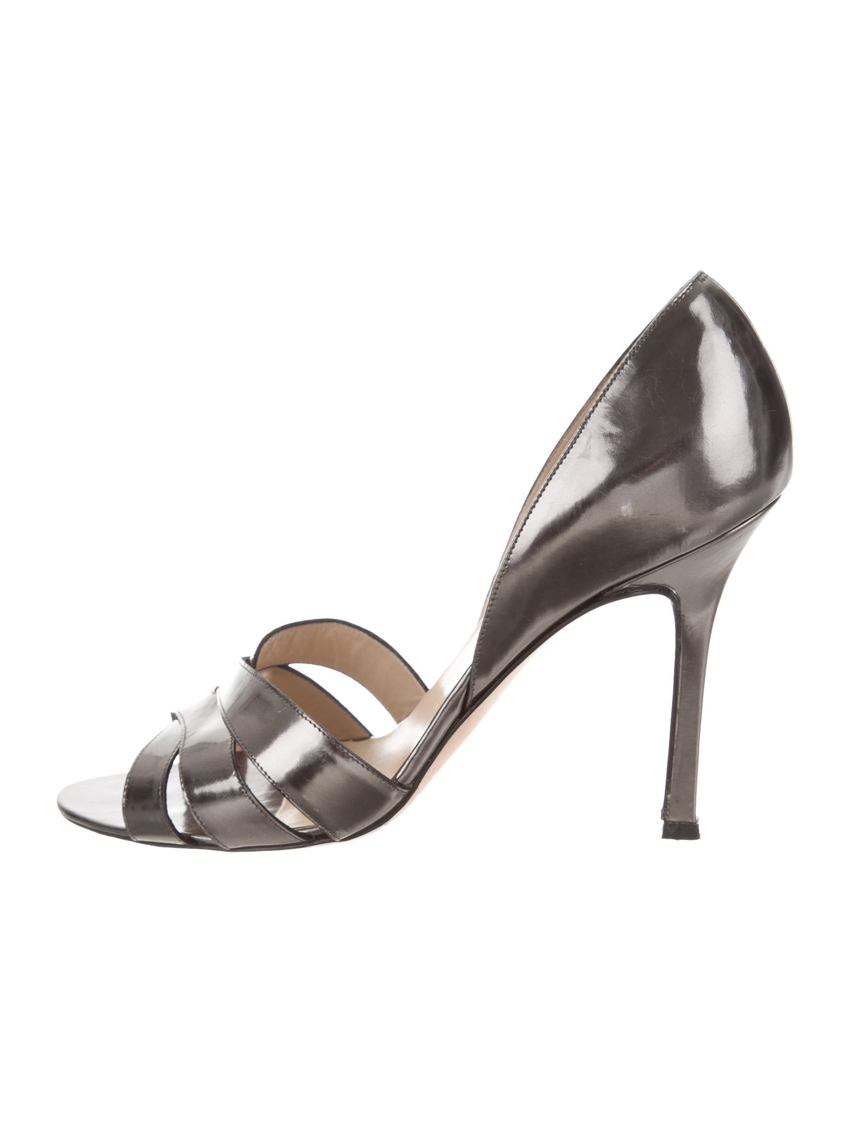 Manolo Blahnik Eleba Crossover Sandals w/ Tags store for sale clearance explore outlet browse discount how much limited edition pMn96s