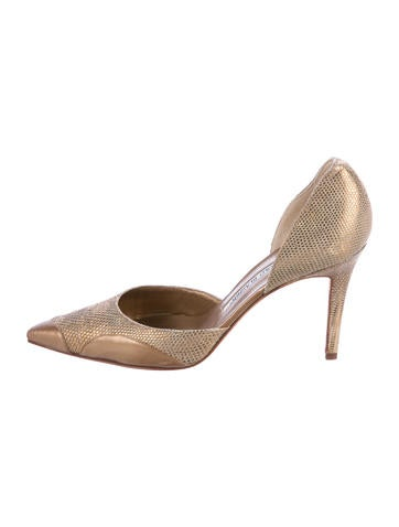 cheap sale for sale Manolo Blahnik Karung D'Orsay Pumps shopping online sale online discount looking for discount best wholesale discount factory outlet FZ4o35pEyD