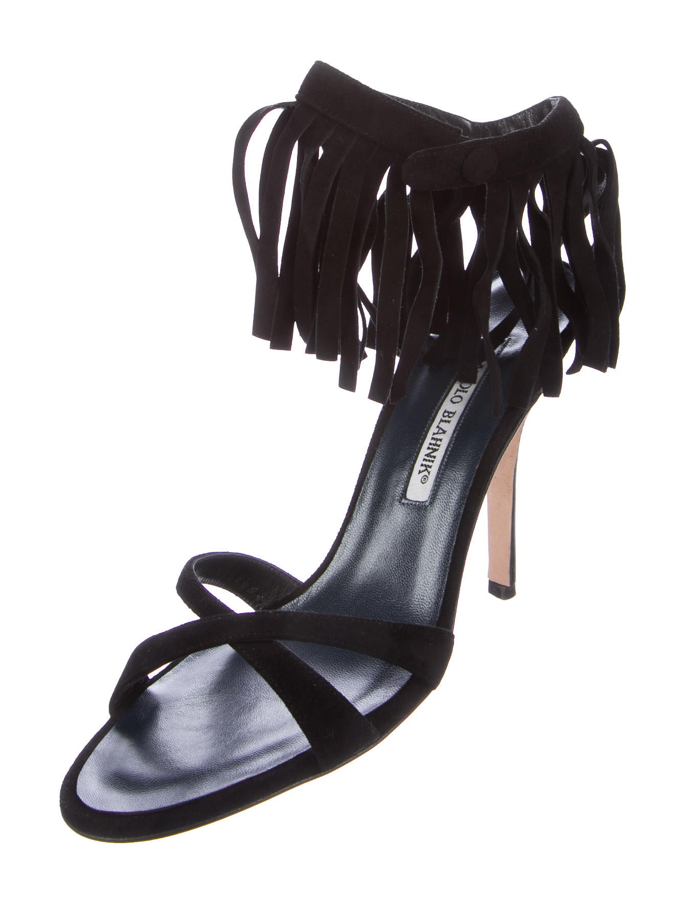 Manolo Blahnik Nativa Suede Sandals how much online countdown package free shipping 100% original clearance Cheapest GnYttpG
