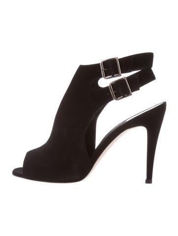 discount manolo blahnik peep toe ankle boots rh takeoutburger com
