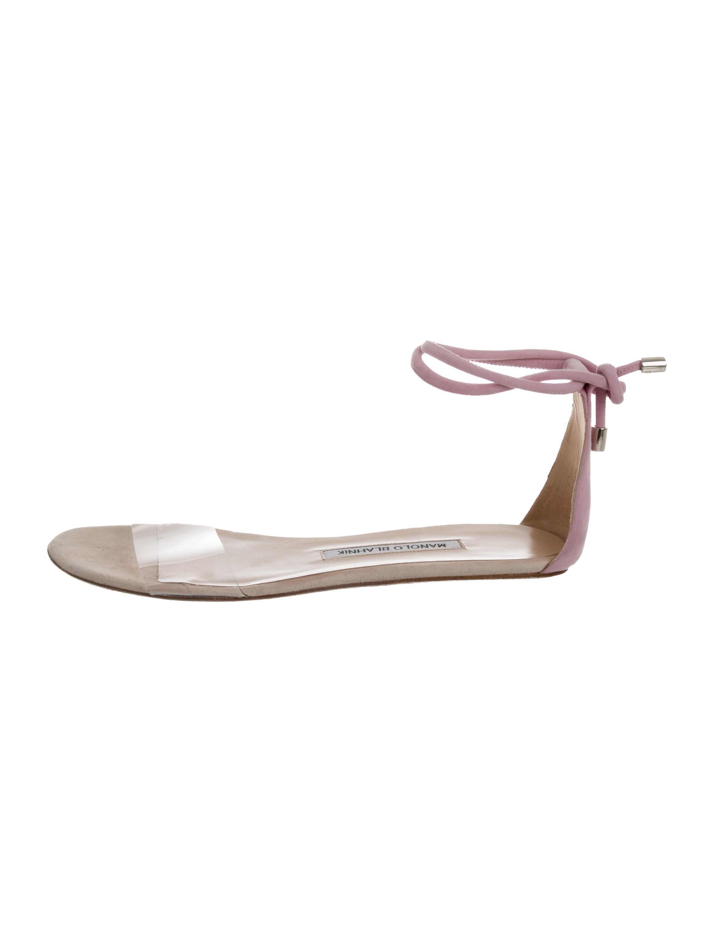 Manolo Blahnik Kallaba PVC Sandals exclusive for sale buy cheap shop 2014 new under 70 dollars limited edition cheap online 1TqMSctw