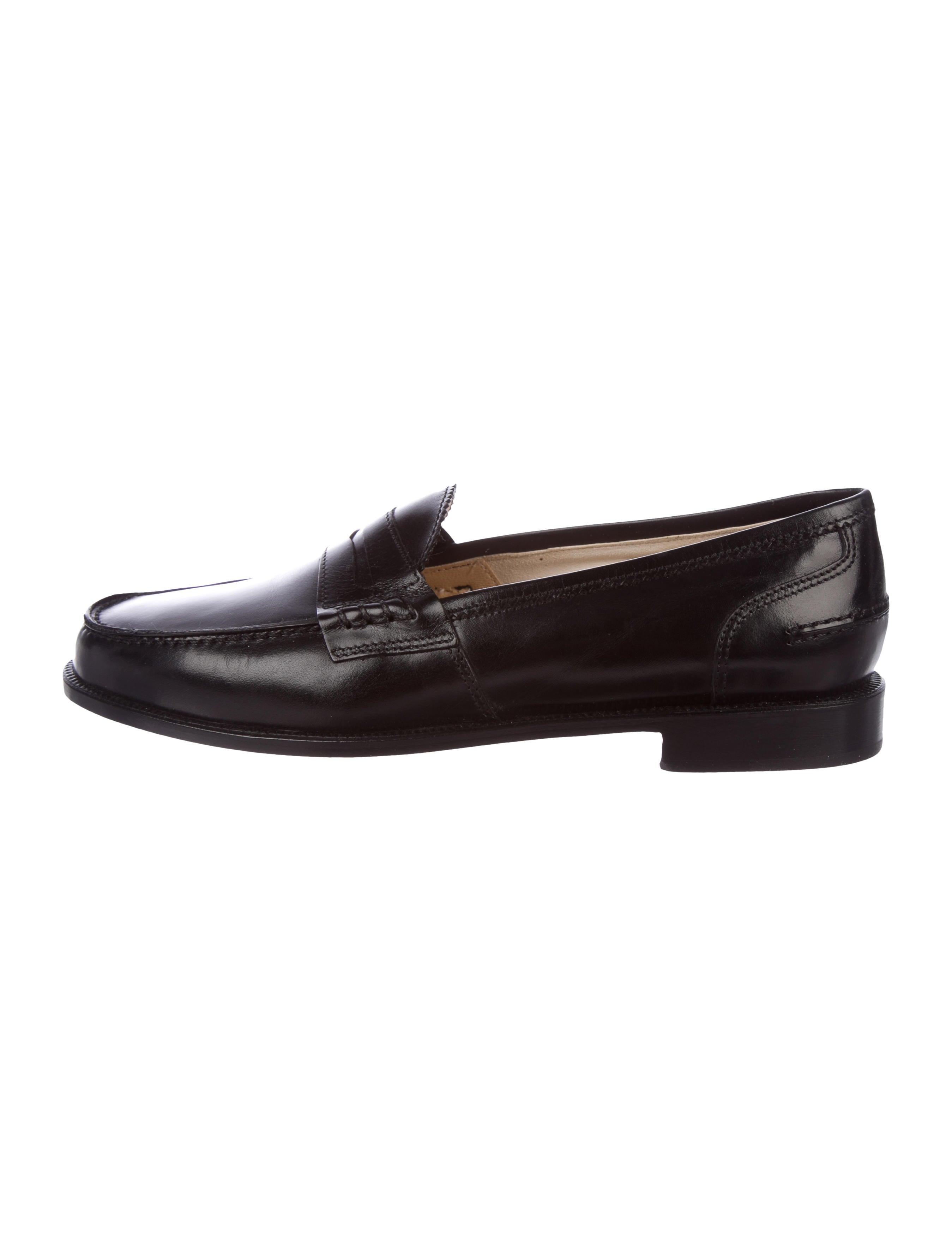 49e9424b899 Manolo Blahnik Ellen Leather Loafers - Shoes - MOO82000