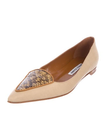 Duche Pointed-Toe Flats