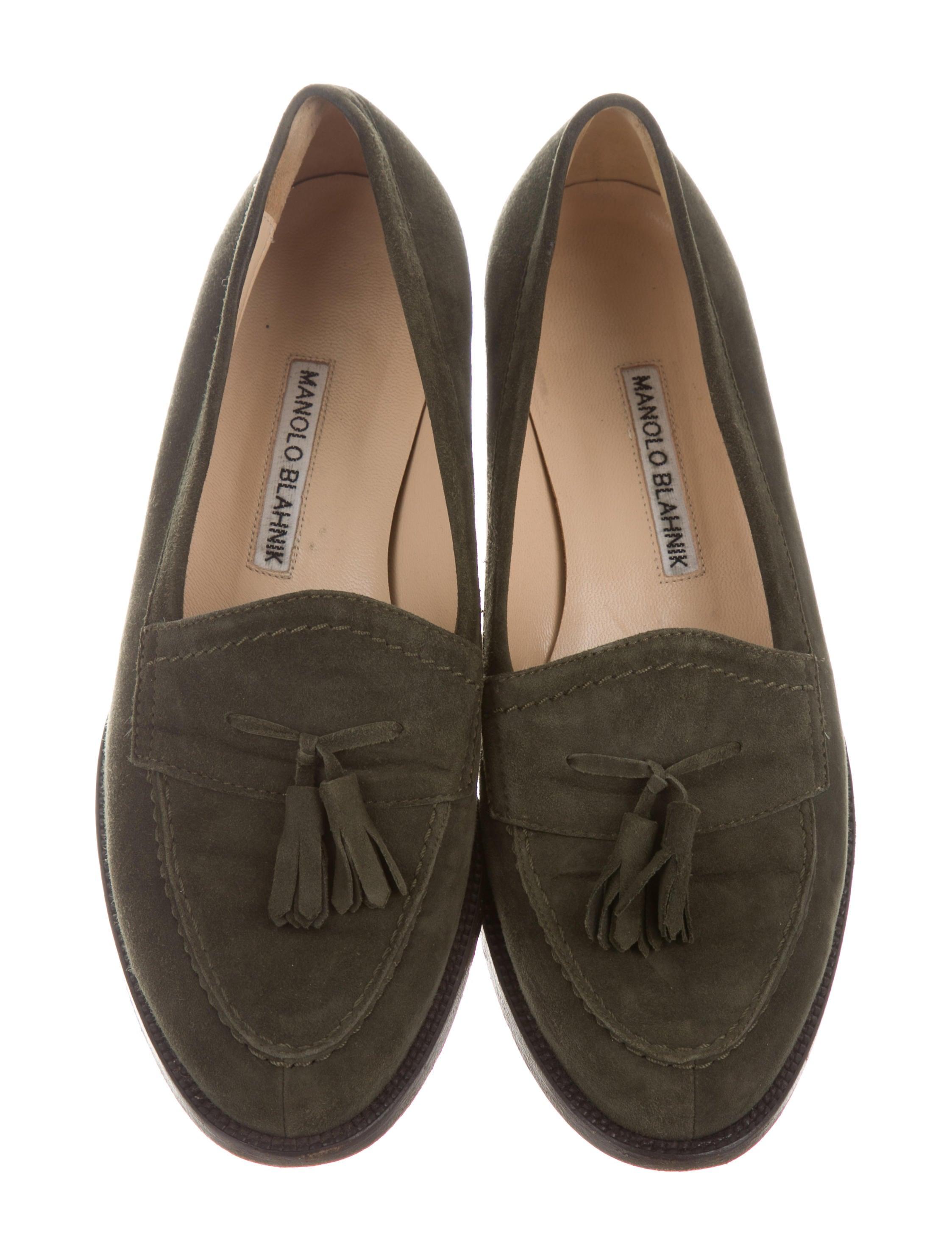 Manolo Blahnik Tassel Round-Toe Loafers websites sale online LFjd0Ztstm