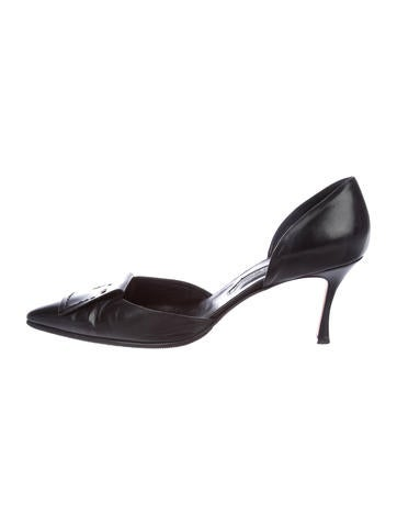 cheap largest supplier footlocker pictures Manolo Blahnik Dipusisma d'Orsay Pumps buy cheap new browse for sale 6E80FgIR