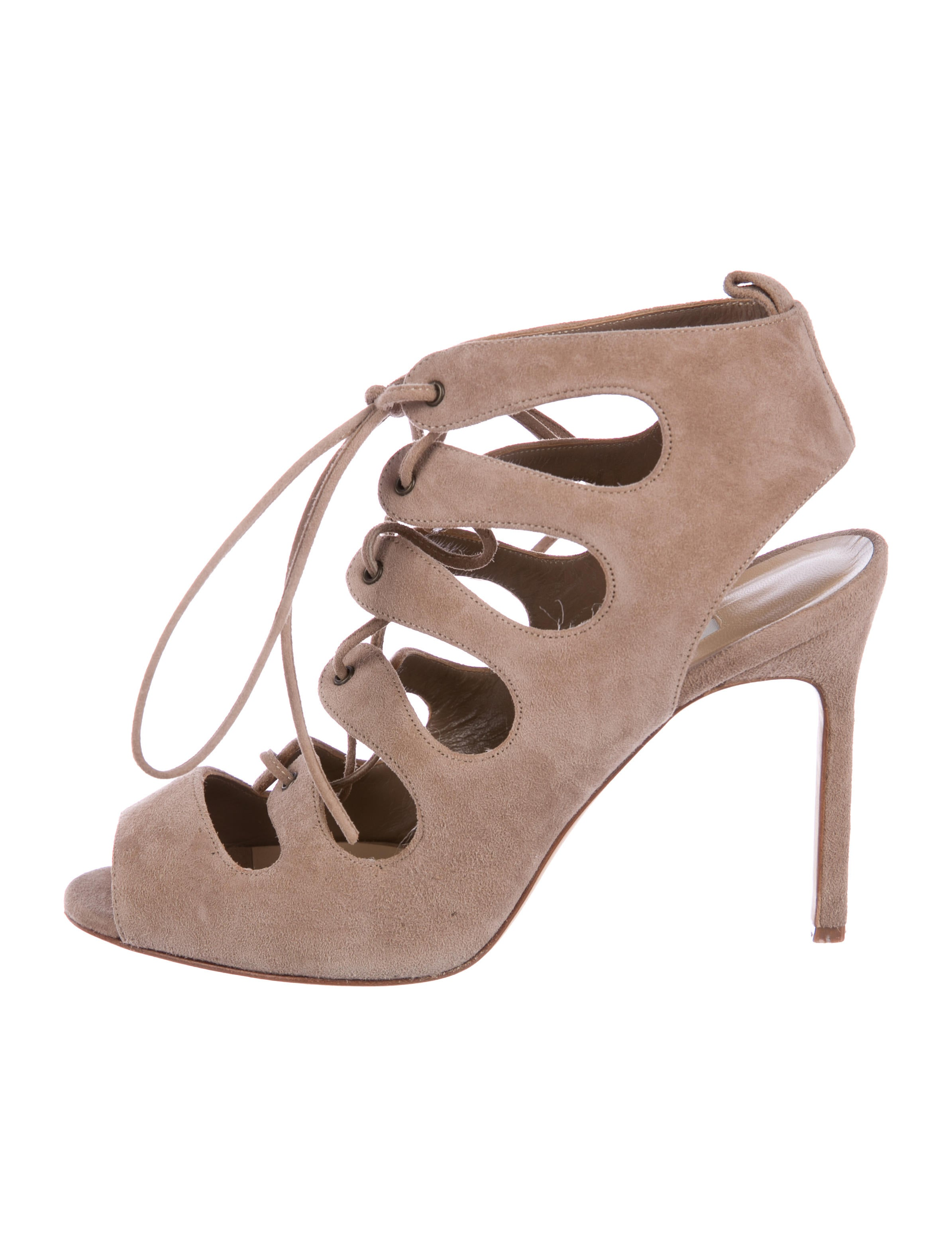 low price fee shipping for sale largest supplier cheap price Manolo Blahnik Taala Suede Sandals L0xoZuuO7J