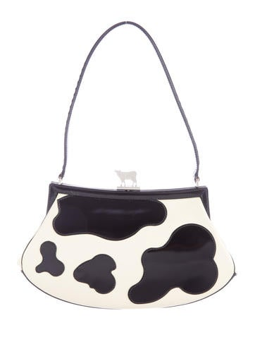 Cow Print Shoulder Bag
