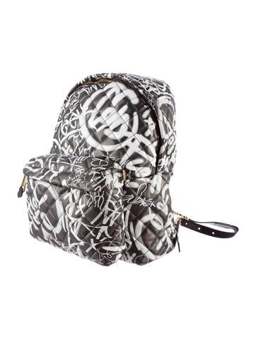 F/W 15 Letters Graffiti Backpack