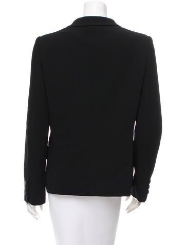 Color Block Button-Up Blazer