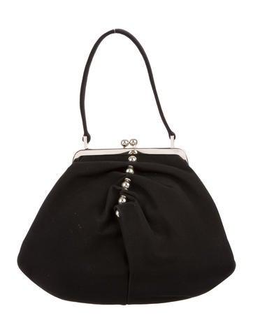 Moschino Woven Handle Bag None