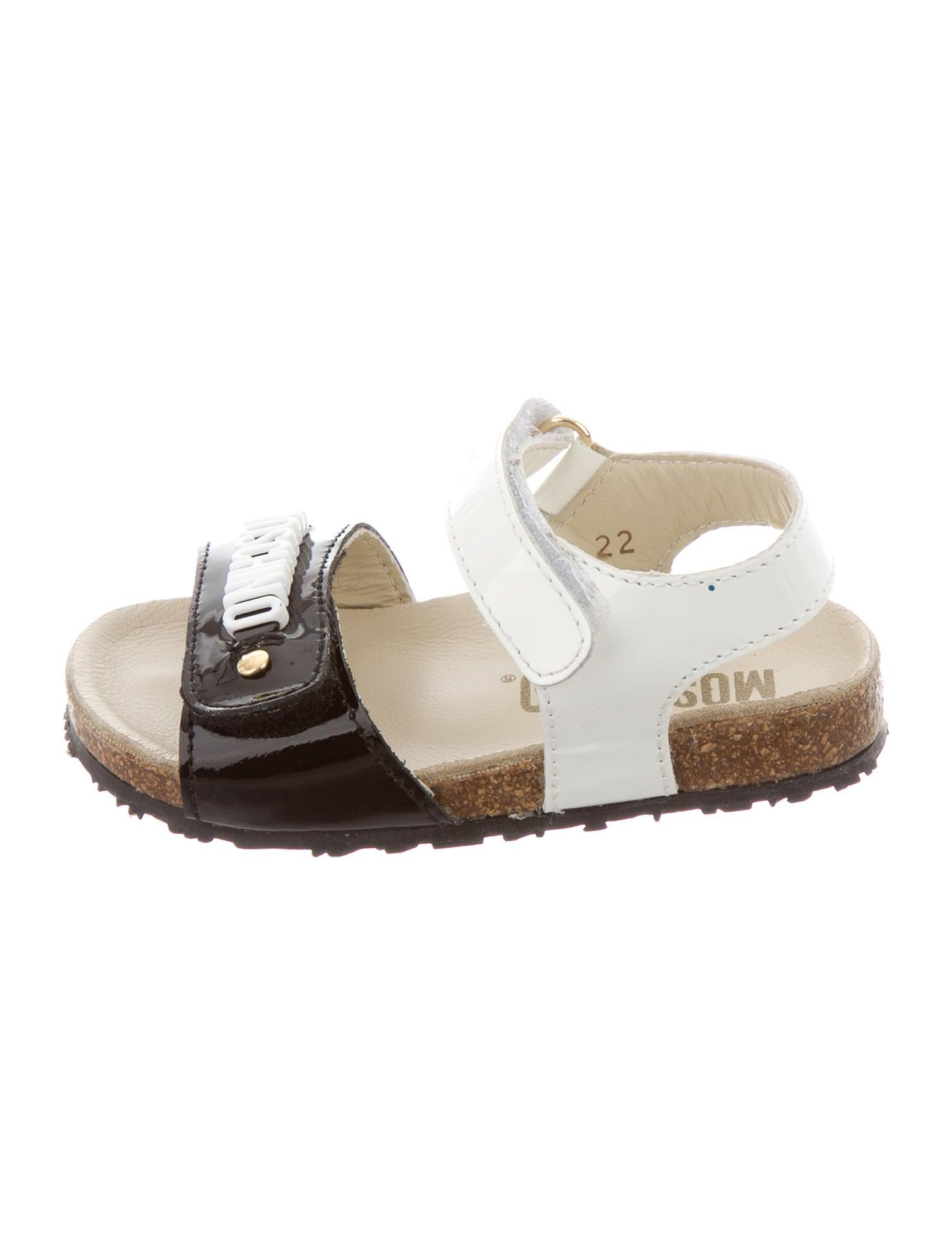 3f3f47e3c07b8 Moschino Girls  Logo-Embellished Multistrap Sandals - Girls ...