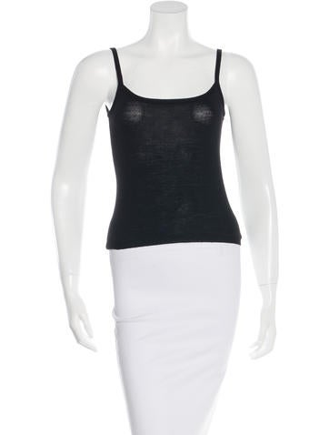 Moschino Wool Sleeveless Top None