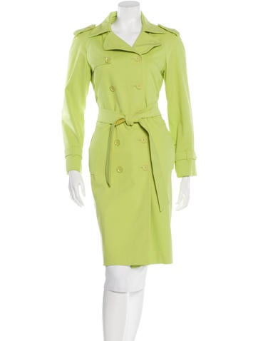 Moschino Long Trench Coat