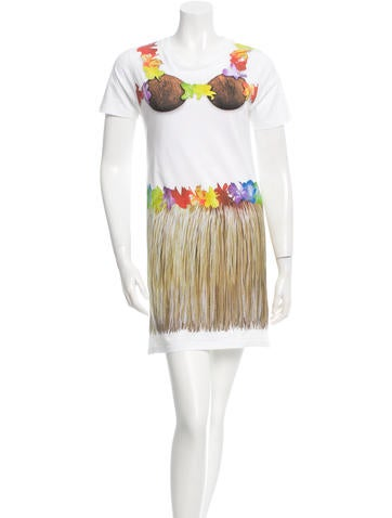 Moschino Coconut Cover-Up Dress None