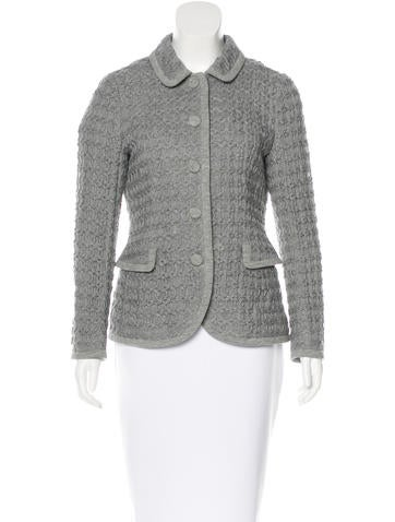 Moschino Knit Button-Up Jacket w/ Tags
