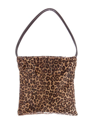 Moschino Printed Ponyhair Tote None