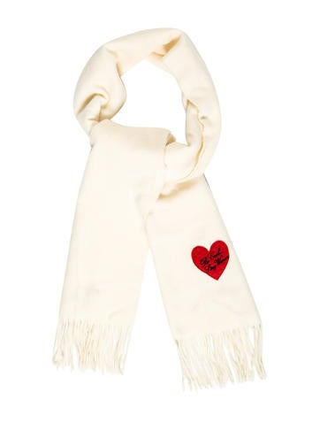 Moschino Wool Logo Scarf None
