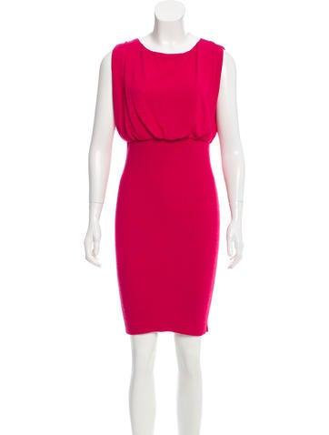 Moschino Sleeveless Knit Dress None