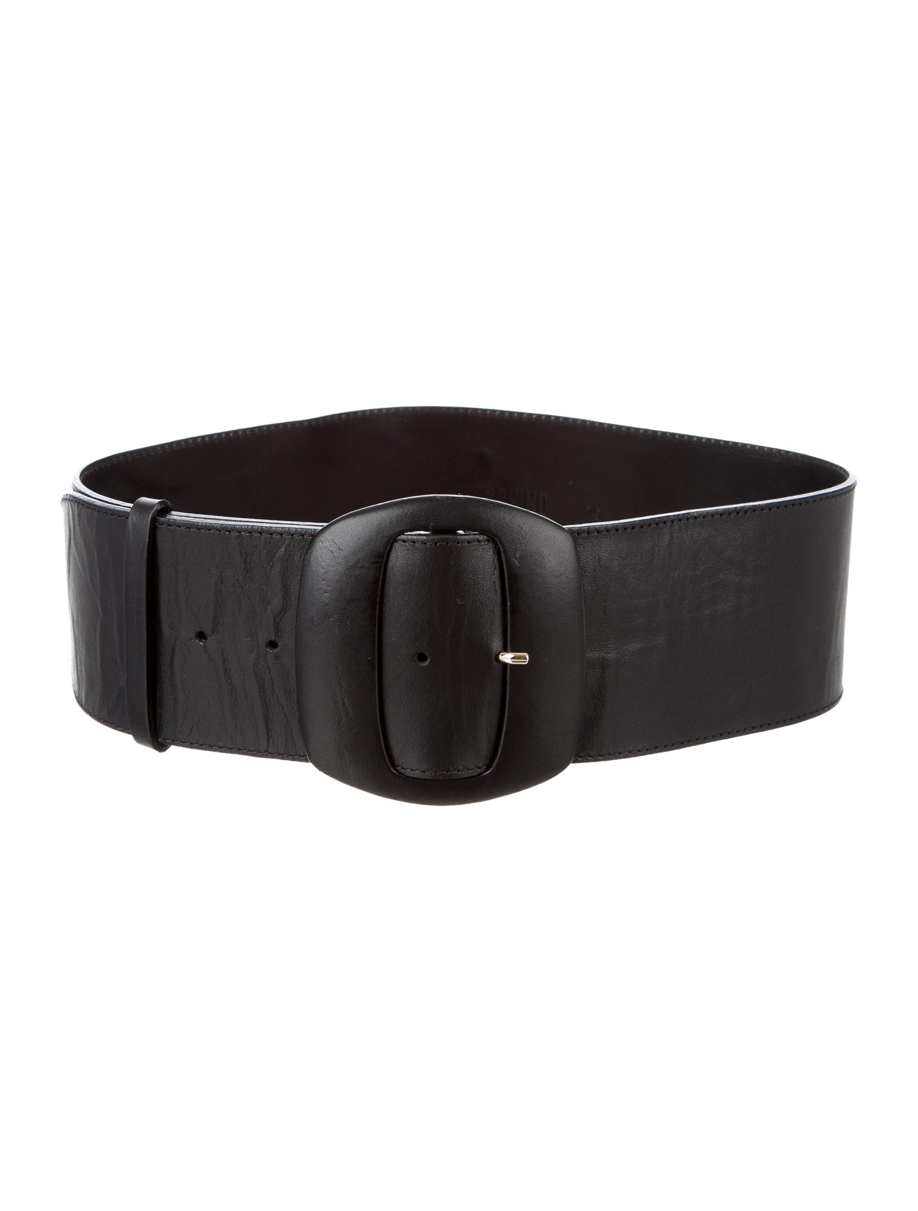 moschino leather waist belt accessories mos27049 the