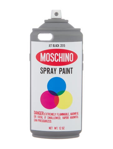 Moschino spray pain iphone 6 case accessories mos27431 for Spray paint iphone case