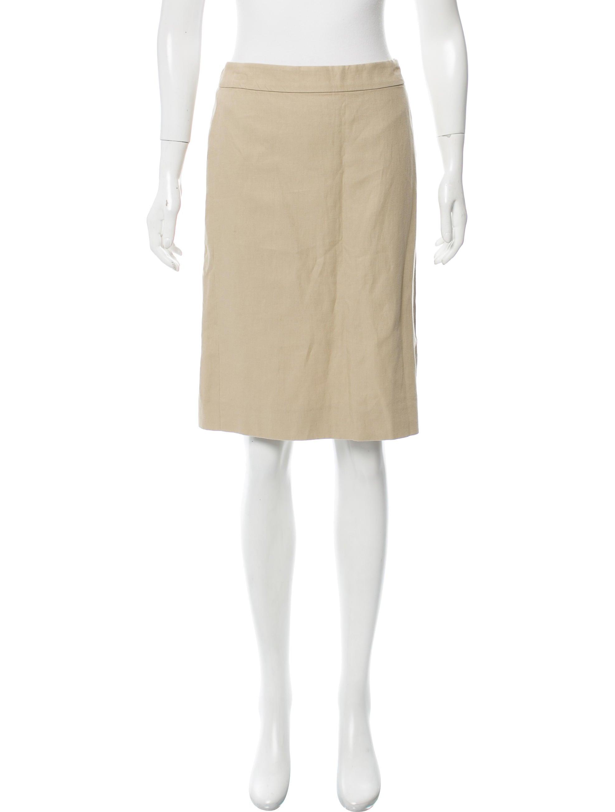 Moschino Knee-Length Pencil Skirt - Skirts