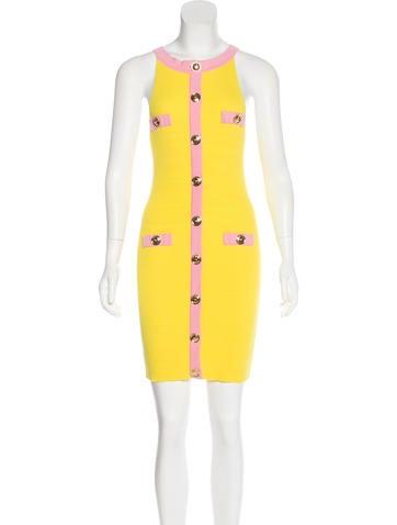 Moschino Sleeveless Mini Dress None